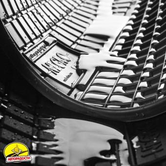 Коврики в салон для Fiat Ducato '06- резиновые (Frogum)