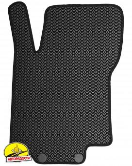 Коврики в салон для Nissan Rogue Sport '14-, EVA-полимерные, черные (Kinetic)