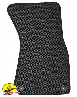 Коврики в салон для Audi A8 '03-10, EVA-полимерные, черные с подпятником (Kinetic)