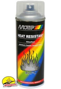 Лак термостойкий бесцветный 400 мл. (Motip)