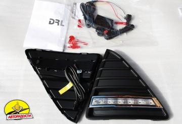 2 - Дневные ходовые огни для Ford Focus III '11- (LED-DRL)
