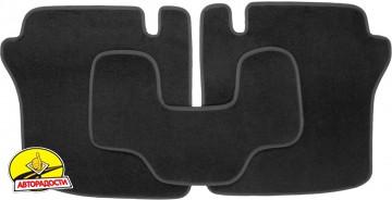 Коврики в салон для Chrysler Sebring '01-10 текстильные, черные (Люкс)