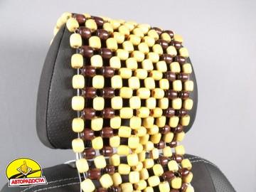 Накидка на сиденье деревянная массажная AT2001RW