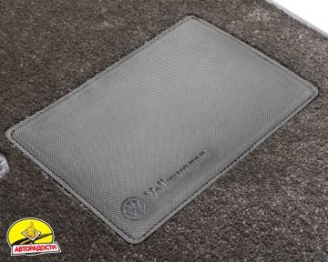 Коврики в салон для Ssangyong Rexton G4 '17-, текстильные, серые (Optimal)