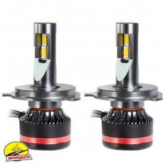 "Автомобильные лампочки H4/HB2 BI, 45 Вт, 5000К MLux LED ""Red Line"" (2 шт.)"