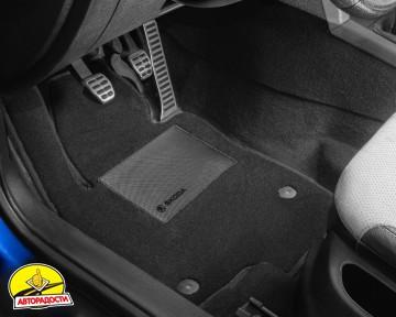 Коврики в салон для Ford Focus III '11- USA, текстильные, черные (Optimal)