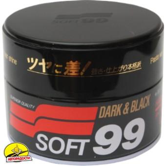 1 - Полироль универсальный для темных авто SOFT 99 00010 Dark&Black Wax