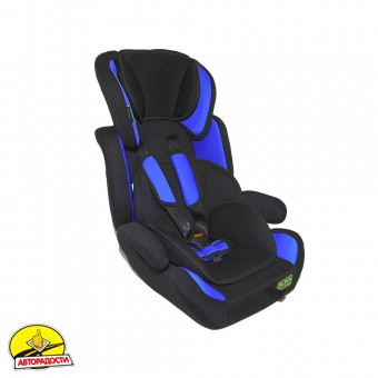 Детское автокресло Boss NE-EF-02 (I, II, III) black-blue