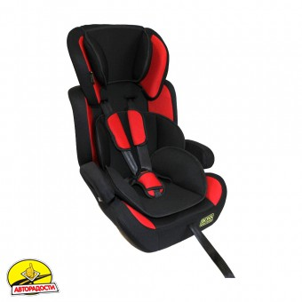 Детское автокресло Boss NE-EF-08 (I, II, III) red-black
