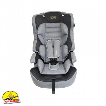 Детское автокресло Boss Baby Car Seat HB616 (I, II, III) grey-black