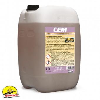 Средство для удаления цемента (концентрат) Atas Cem 10 кг