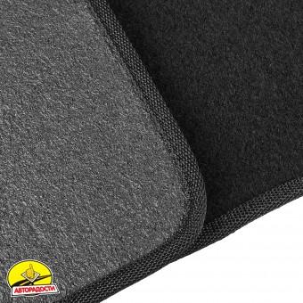 Коврики в салон для Volkswagen LT '96-05 текстильные, черные (Стандарт)
