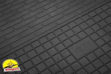 Коврики в салон для Lada (Ваз) Priora 2170-2172 '07- резиновые (Stingray)