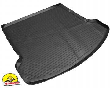 Коврик в багажник для Nissan Qashqai +2 '06-14, (длинный), полиуретановый (Novline / Element) черный EXP.NLC.36.24.G13