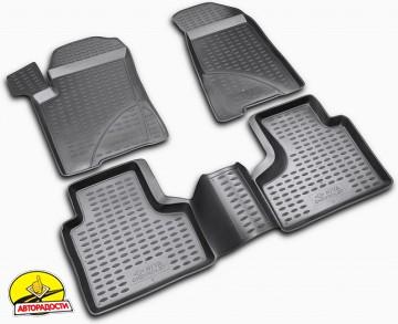 Коврики в салон для Chevrolet Niva '02- полиуретановые (Novline / Element)