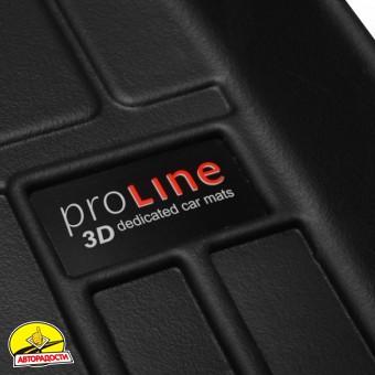 Коврики в салон для Mercedes S-Class W222 '13- Long резиновые Proline 3D (Frogum)