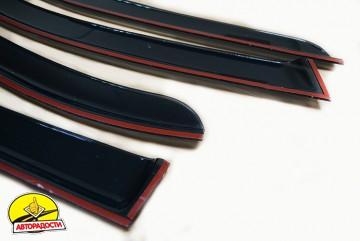 Дефлекторы окон для Skoda Rapid '13- (Cobra)