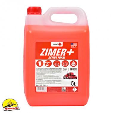 Автошампунь - концентрат Nowax Zimer+ Active Foam, 5 л