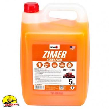 Автошампунь - концентрат Nowax Zimer Active Foam, 5 л