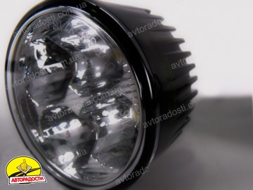 Фары дневного света NS-4207 DRL 1Wx4/12V-24V/D=70mm