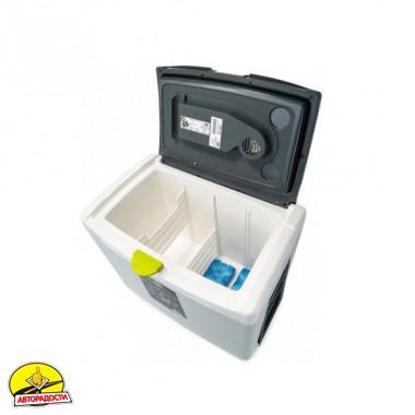 Автохолодильник серый GIOStyle SHIVER + аккумуляторы холода, 40 л.