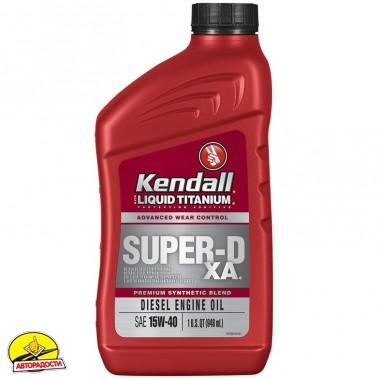 Kendall Super-D XA Liquid Titanium 15W-40, 0,946 л