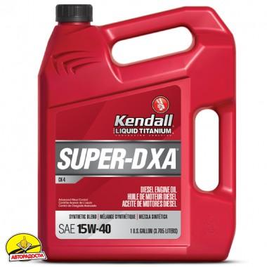 Kendall Super-D XA Liquid Titanium 15W-40, 3,785 л