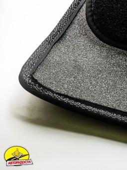 Коврики в салон для Volkswagen Phaeton '02-16 текстильные, черные (Премиум)