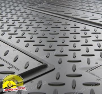 Коврики в салон для Toyota RAV4 '10-12 полиуретановые, черные (Nor-Plast) передние