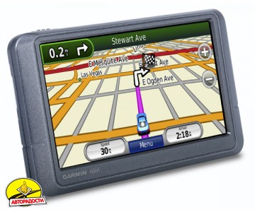 Автомобильный навигатор Garmin nuvi 205W