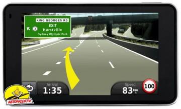 Автомобильный навигатор Garmin nuvi 3760