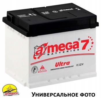 Автомобильный аккумулятор A-MEGA Ultra 75Ач, левый плюс
