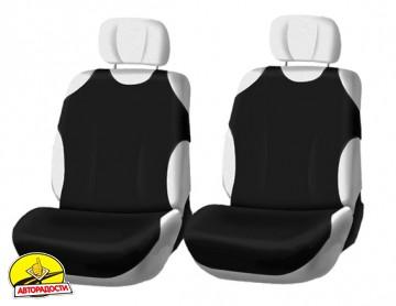 Чехлы (майки) для переднего сиденья (черные)