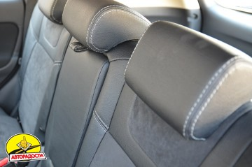 Авточехлы Leather Style для салона Mitsubishi Outlander '12- (MW Brothers)