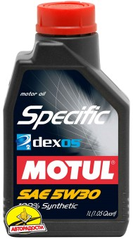 OPEL / GM / SAAB MOTUL SPECIFIC DEXOS2 (5л)