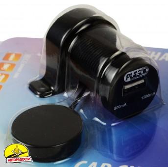 Адаптер USB мото/автомобильный Pulso 12/24V