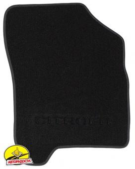Коврики в салон для Citroen C3 '10- Picasso текстильные, черные (Милан)