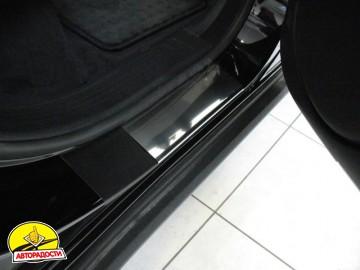 Накладки на пороги для Mercedes ML-Class W164 '05-11 (Standart)