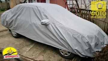 Тент автомобильный для джипа / минивена Vitol Peva+Non-PP Cotton L (JC13402)