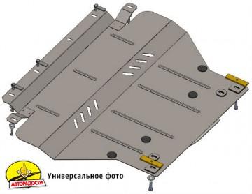 Защита картера двигателя и КПП, радиатора для Alfa Romeo 156 '99-07, МКПП, V-1,6;1,8;2,0;2,5;1,9JTD;2,4JTD; (Кольчуга)