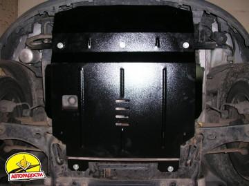Защита двигателя и КПП, радиатора для Ford Fiesta VI '02-09, V-1,4D (Кольчуга)