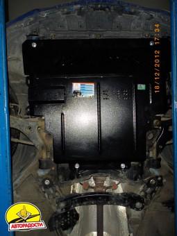 Защита картера двигателя и КПП, радиатора для Mazda 3 '03-09, V-1.4; 1.6; 2.0 (Кольчуга)