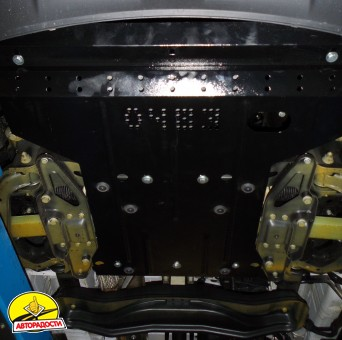Защита двигателя и КПП, радиатора для Mercedes-Benz Sprinter '13-, V-все, кроме 4х4 (Кольчуга)