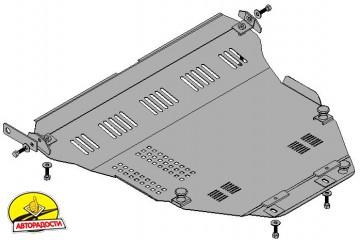 Защита двигателя и КПП, радиатора для Suzuki Liana '05-07, V-1,6, только полн. привод 4x4 (Кольчуга)