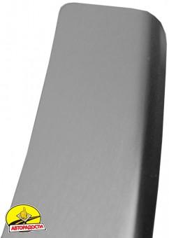 Накладка с загибом на бампер для Skoda Octavia A5 '09-13 Универсал (Premium)