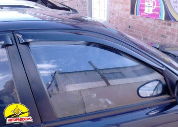 Дефлекторы окон для Chevrolet Lanos / Sens '05- (Auto Сlover)