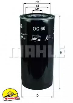 Масляный фильтр KNECHT OC 60