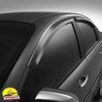 Дефлекторы окон для Chevrolet Aveo '06-11 седан (Auto Сlover)