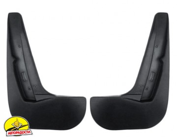 Брызговики задние для Subaru Outback '12-14 (Nor-Plast)