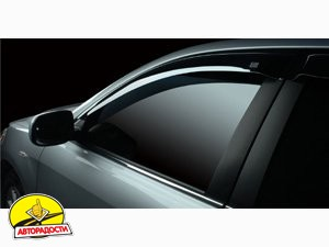 Дефлекторы окон для Nissan Almera Classic '06-13 (Auto Сlover)